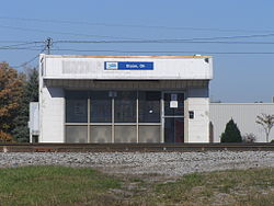 Amtrak Station Bryan Ohio PB020115.JPG