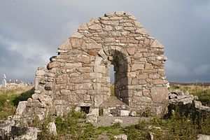 Mullet Peninsula - St. Dairbhile's Church, a medieval place of worship