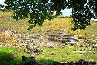 Gitanae - Image: Ancient Theater in Gitanae