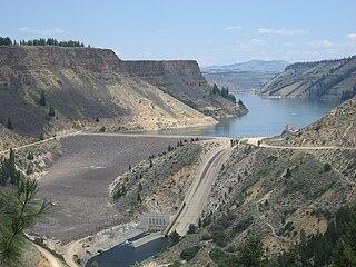 Anderson Ranch Dam dam in Elmore County, Idaho,U.S.