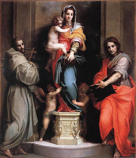 File:Andrea del Sarto - Madonna of the Harpies - WGA00369.jpg