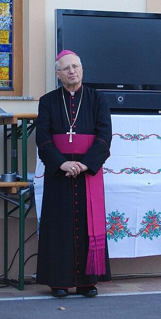 Roman Catholic Diocese of Novo Mesto - Bishop Andrej Glavan