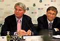 Andrew Mitchell and Bill Gates at the GAVI Alliance pledging event press conference.jpg