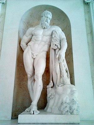 Giuseppi Angelini (sculptor) - Angelini's version of the Farnese Hercules, circa 1792