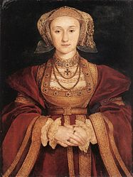 Hans Holbein: Betrothal portrait of Anne of Cleves