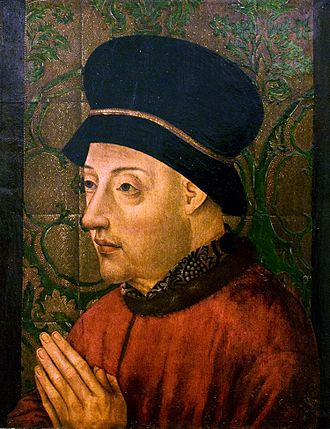 John I of Portugal - Portrait painted c. 1435