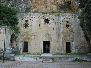 Early centers of Christianity - The Church of St Peter near Antakya, Turkey, said to be the spot where Saint Peter first preached the Gospel in Roman Antioch.