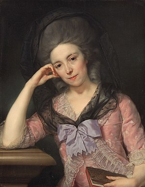 Frederick Hervey, 4th Earl of Bristol - Elizabeth, Countess of Bristol. Portrait by Anton von Maron