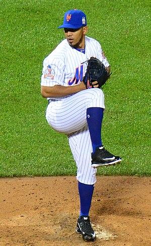 Antonio Bastardo - Bastardo pitching for the New York Mets in 2016