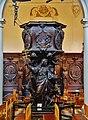 Antwerpen Sint Carolus Borromeus Innen Kanzel 5.jpg