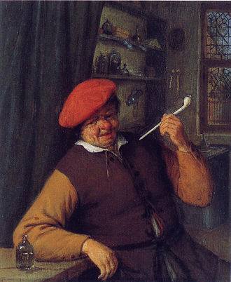 Tobacco and art - Image: Apothecary smoking pipe