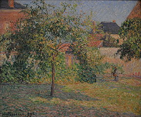 Apple Tree in the Meadow, Eragny