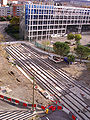 Arènes tramway station (under construction) 01, Toulouse.jpg