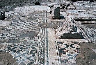 Irbid Governorate - A Byzantine site in Ar Ramtha