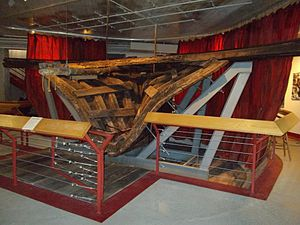 Arabia Steamboat Museum - Stern of the Arabia