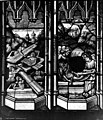 Archevêché - Vitrail, Le Christ en croix transpercé d'une lance, Résurrection des morts - Rouen - Médiathèque de l'architecture et du patrimoine - APMH00015435.jpg