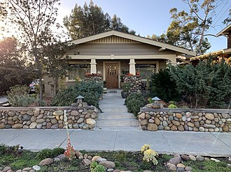 Mission Hills, San Diego - Craftsman bungalow in Mission Hills