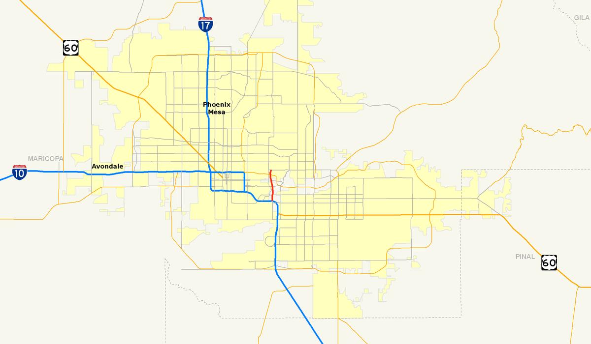 Arizona State Route 143 Wikipedia