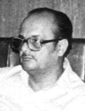 Arjun Singh - Arjun Singh in 1984