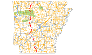 Arkansas Highway 7 - Image: Arkansas 7
