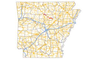 Arkansas Highway 110 highway in Arkansas