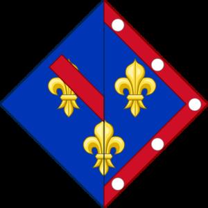 Françoise d'Alençon - Image: Armes françoise alencon (après 1527)