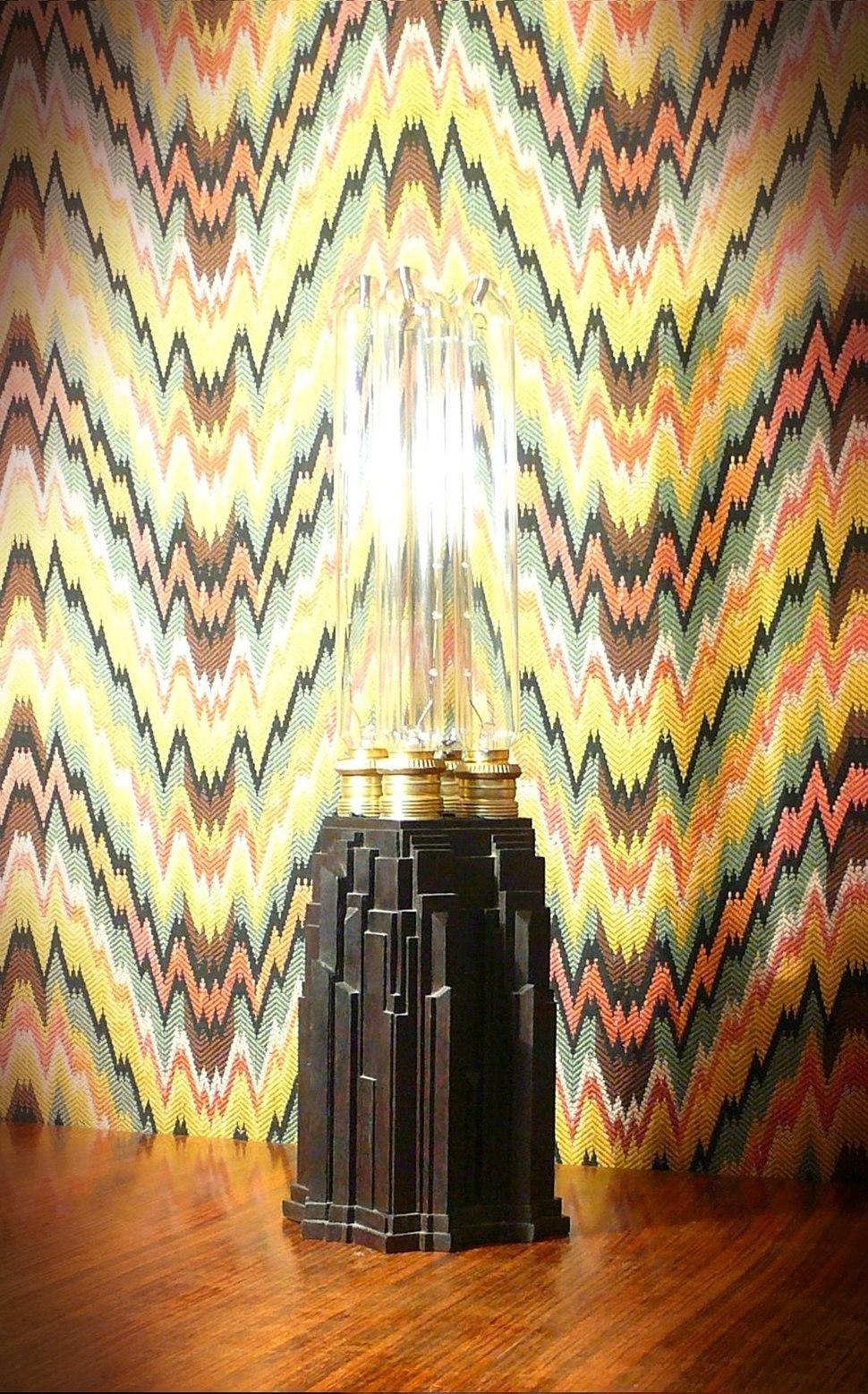 Arnaldo Dell%27Ira (1903-1943), lampada a grattacielo, 1929