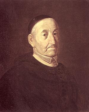 Michael Willmann - Portrait of Arnold Freiberger, Abbot of Leubus