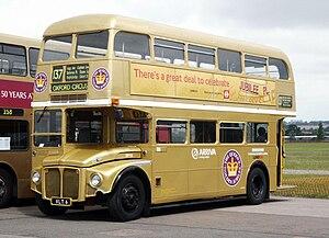 Arriva London Routemaster bus RM6 (VLT 6), 2002 North Weald bus rally.jpg
