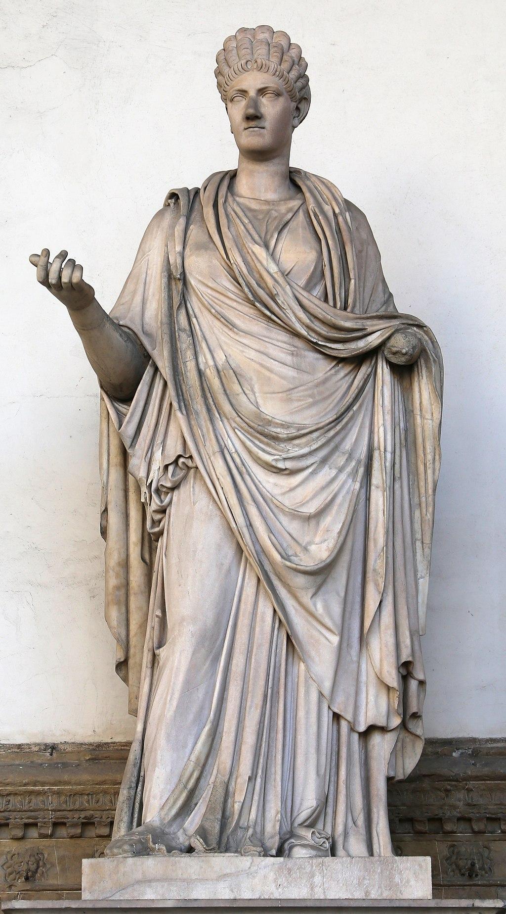Arte romana, Ulpia Marciana (48 AD - 112 AD) elder sister of Roman Emperor Trajan