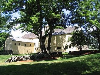 General Artemas Ward House - Image: Artemas ward barn rear view
