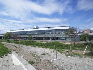 Asahikawa Station - Asahikawa Station building in May 2012