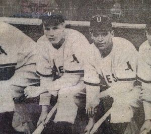 Utica Blue Sox - Richie Ashburn and Nick Picciuto Utica Blue Sox 1945