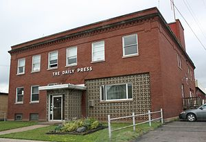 Ashland Daily Press - Building