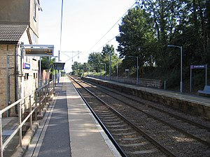 Ashwell and Morden railway station - Image: Ashwell & Morden Station