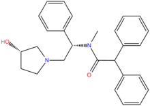 Chemical structure of Asimadoline.