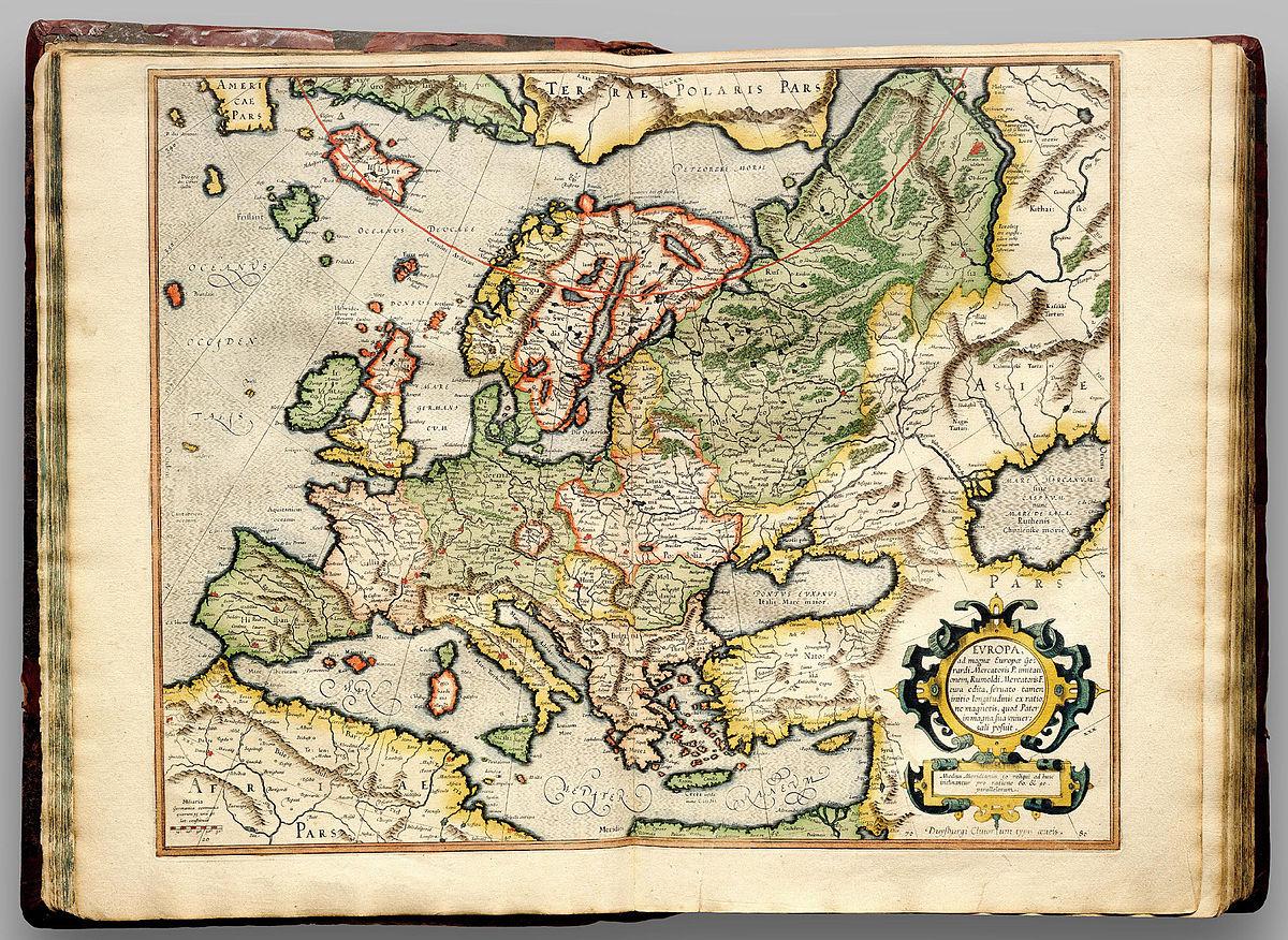 cartography of europe wikipedia