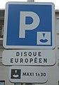 Aubière - Panneau disque européen.JPG
