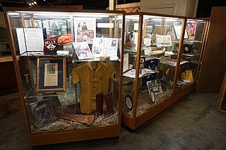 Audie Murphy American Cotton Museum - Image: Audie Murphy American Cotton Museum July 2015 02 (Audie Murphy display)