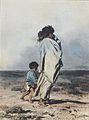 August von Pettenkofen - Zigeunerin mit zwei Kindern - 1854.jpeg