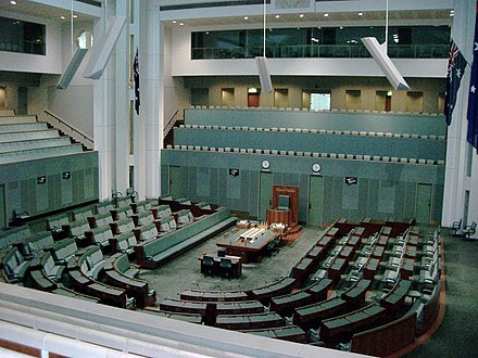 Inside the House of Representatives AustHouseOfReps.jpg