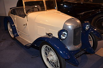 Coachbuilder - Austin Seven Swallow by Swallow Coachbuilding Company (later Jaguar Cars)
