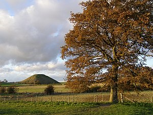 Silbury Hill - Seen from near Swallowhead Springs