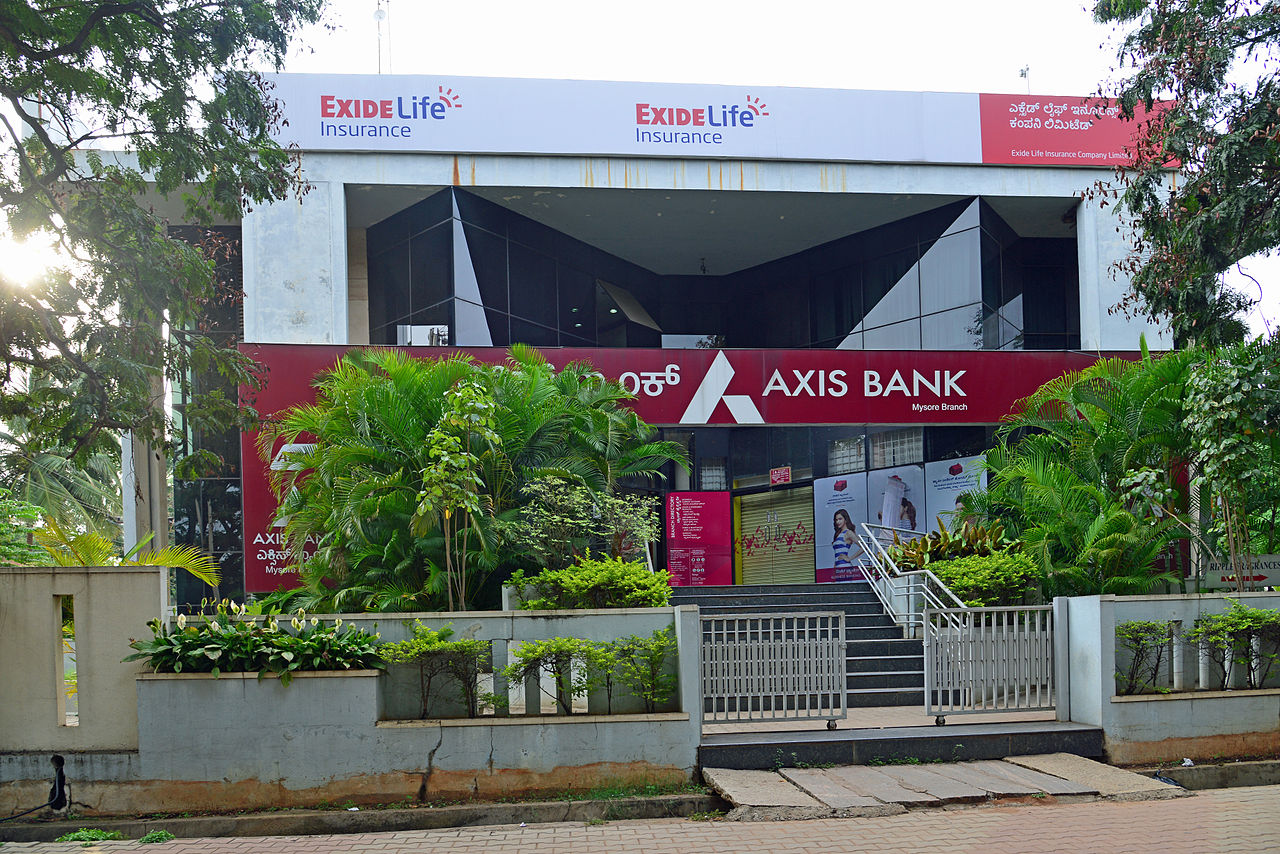 File:Axis Bank, Temple Road, Mysore.jpg - Wikimedia Commons