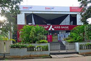 Axis Bank filial i Mysore