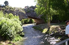 Ayres Natural Bridge über den LaPrele Creek (2004)