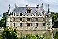 Azay-le-Rideaux Château d'Azay-le-Rideau Südseite 4.jpg