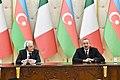 Azerbaijani, Italian presidents made press statements.jpg