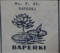 BAPERKI election symbol on 1955 ballot paper.png