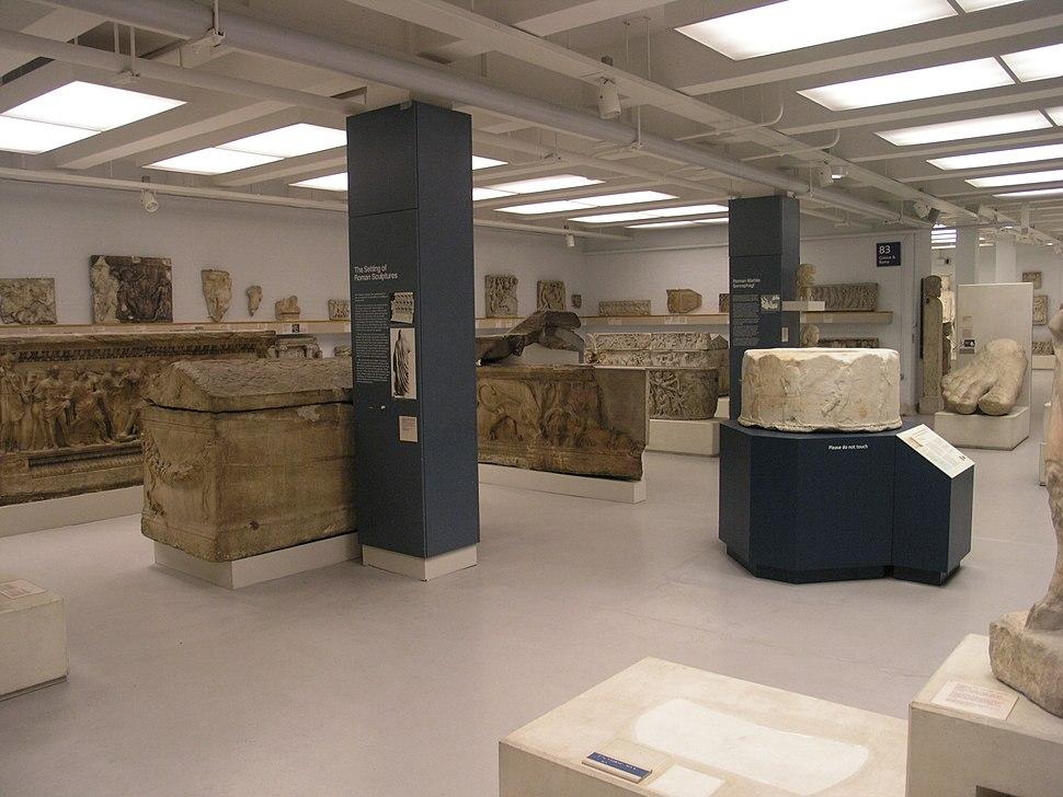 BM; GMR - RM 83, Roman Sculpture